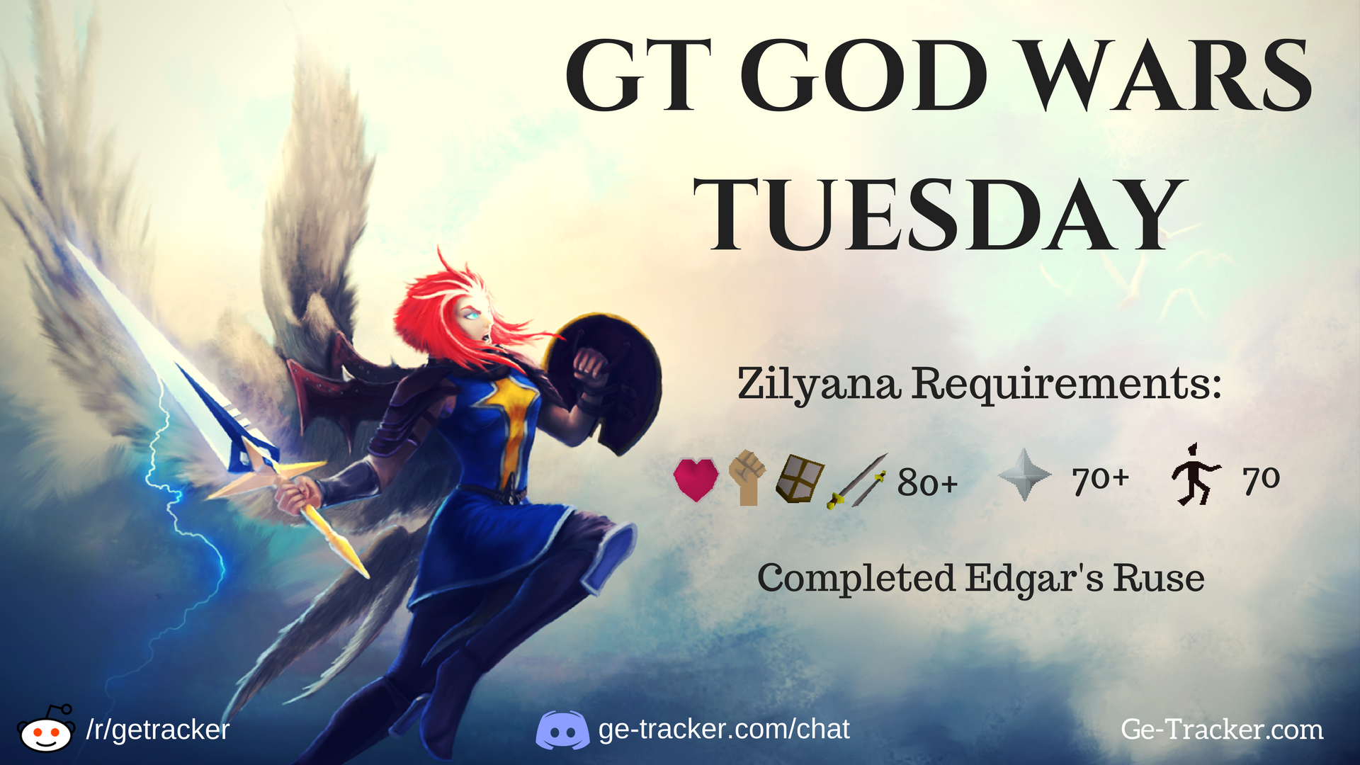 GT GOD WARS TUESDAY